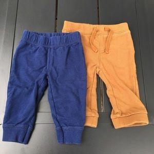 Carter's & Old Navy pants bundle size 6 months
